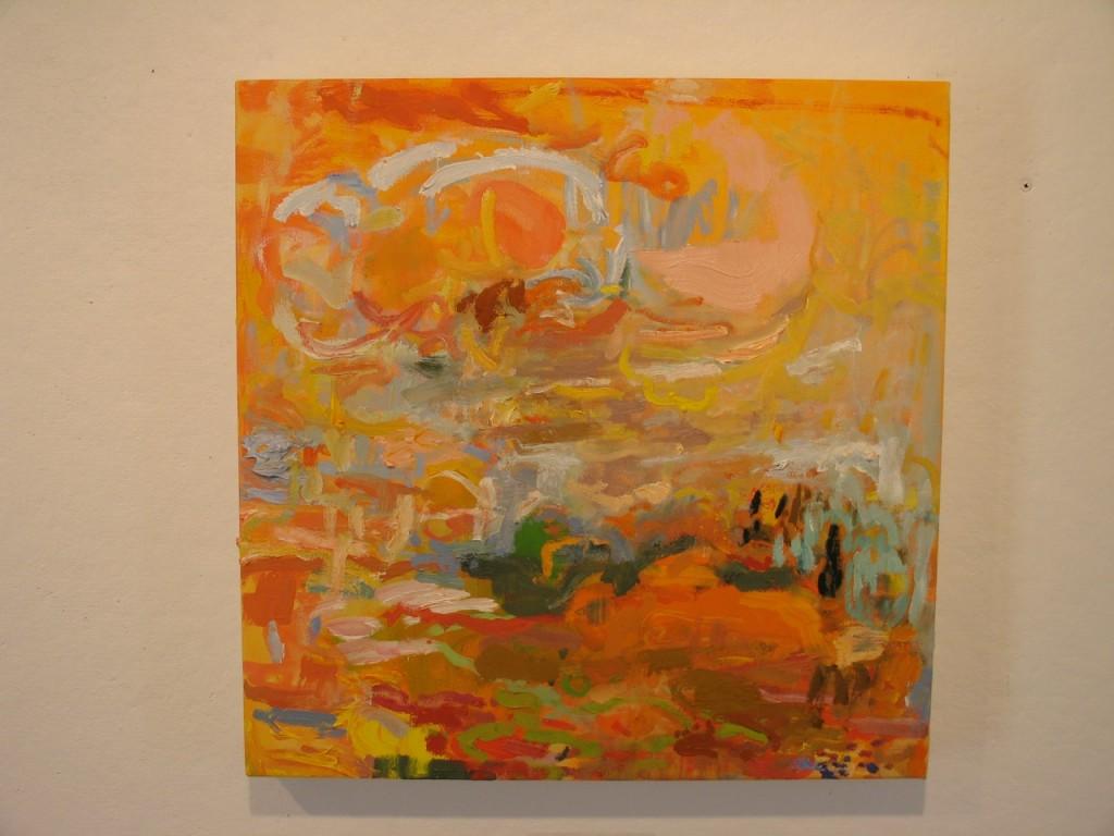 Renee Bouchard, painter, Towle Hill Studio, Vermont