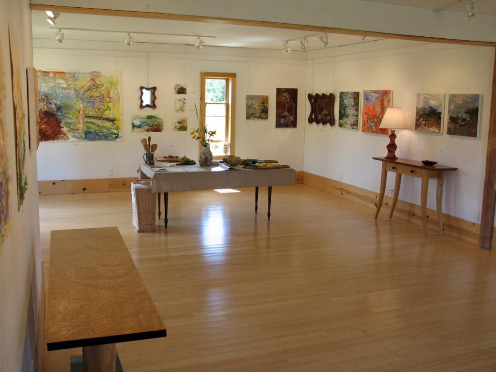 David Hurwitz, woodworking, Renee Bouchard, paintings, Vermont, Towle Hille Studio