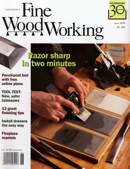 Fine Woodworking magazine, June 2006, wine cabinet, David Hurwitz ...