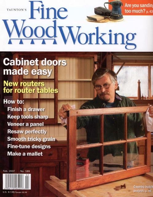 Fine Woodworking magazine, Feb. 2007, kitchen utensils, cooking utensils, David Hurwitz, award winning, made in Vermont