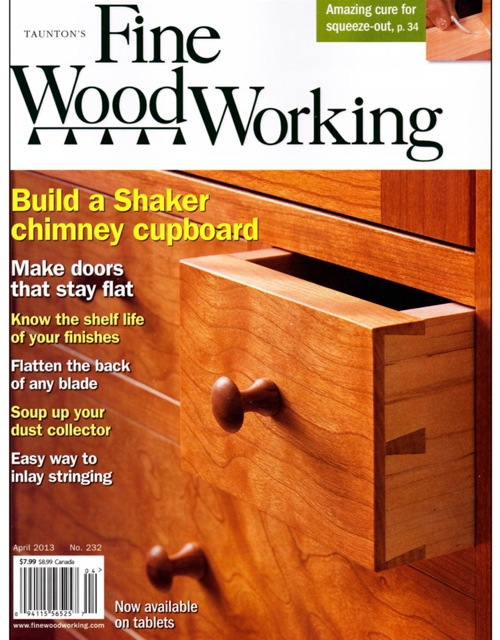 fine woodworking furniture magazine