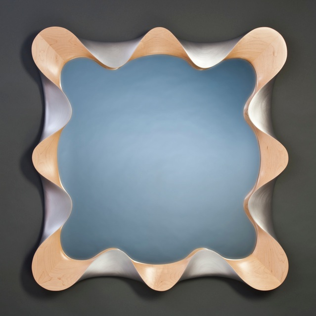 Modern Wall Mirror By David Hurwitz, Custom Wall Mirrors, Made In