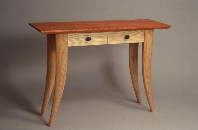 Hall Tables With Drawers custom hall table, modern design handmade furnituredavid
